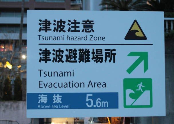 日本の自然災害「津波」