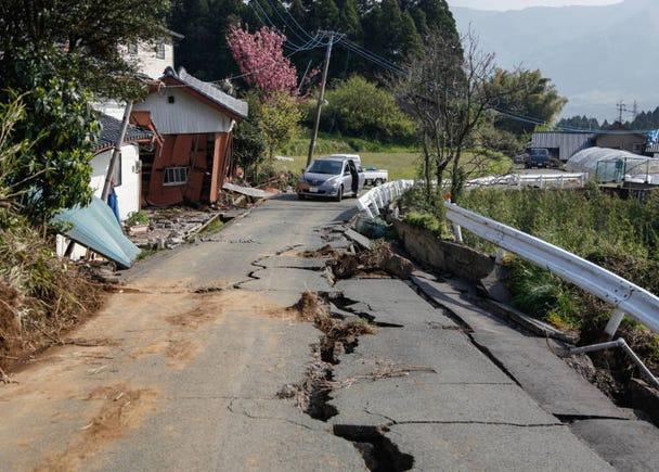 足以代表日本的自然災害「地震」