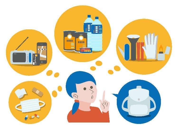 遇到灾害该带什么东西在身上?日本人告诉你有备无患的四大类灾难救急便利小物