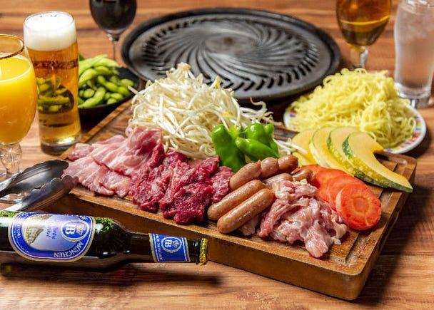 日本夏天必備!東京4間車站直達的百貨公司啤酒花園【2019年版】