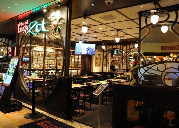 ●Beer Cafe Brugse Zot (Coredo Muromachi Building 2, 2F)
