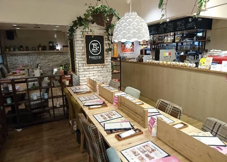 ●「kawara café & kitchen+PLUS」 (西館9樓 東急餐飲街[DINING DINING])