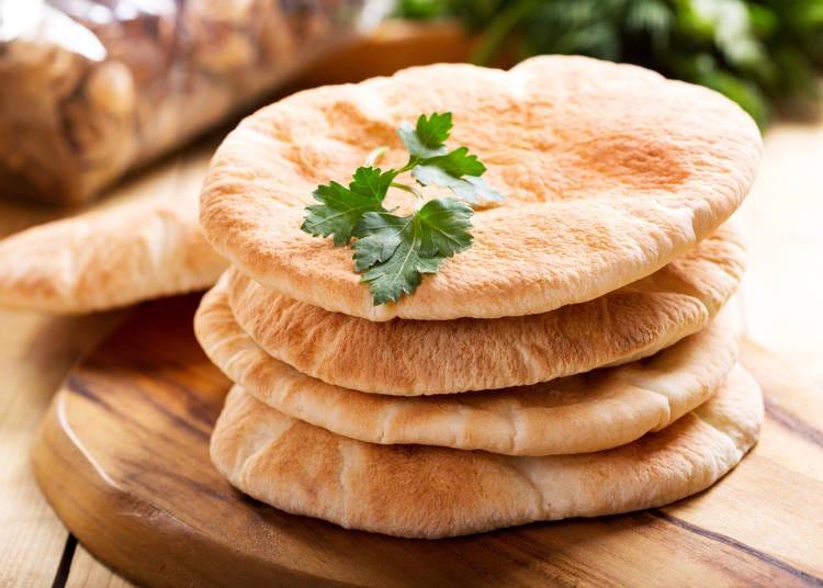 ■「ピタパン」と「チャパティ」、「トルティーヤ」の違い
