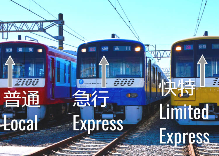 4. Understanding Local trains vs. Express Trains and How to Read a Train Map
