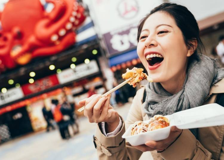 Traveling Japan Solo - Advantage #3: Eat the most authentic food!