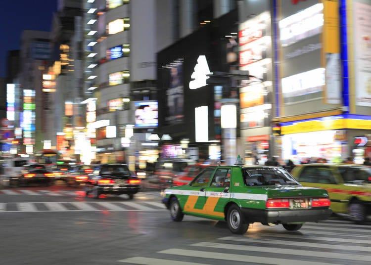 일본 택시는 안심이 되는 데다 최고의 서비스!(중국인 남성)
