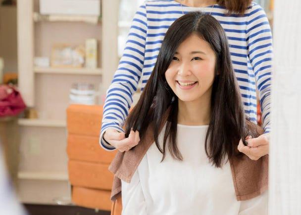 日本の美容院は世界一の技術とサービスね!