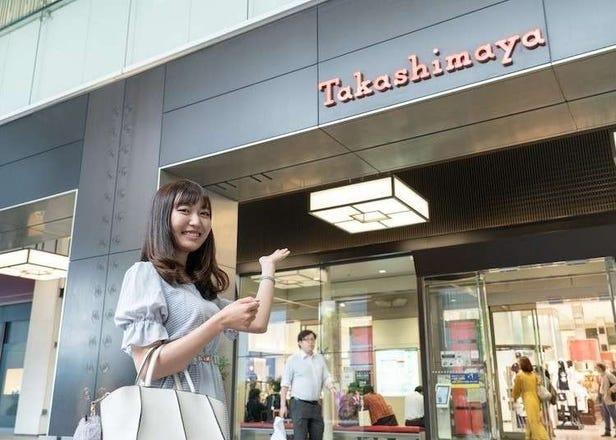LIVE JAPAN独家限定1000日元优惠券─适用于化妆品、美容科技、午餐、甜点等服务! 尽情购物、放松身心,并选择高岛屋时代广场作为您与东京美妆产品的一日约会地点吧