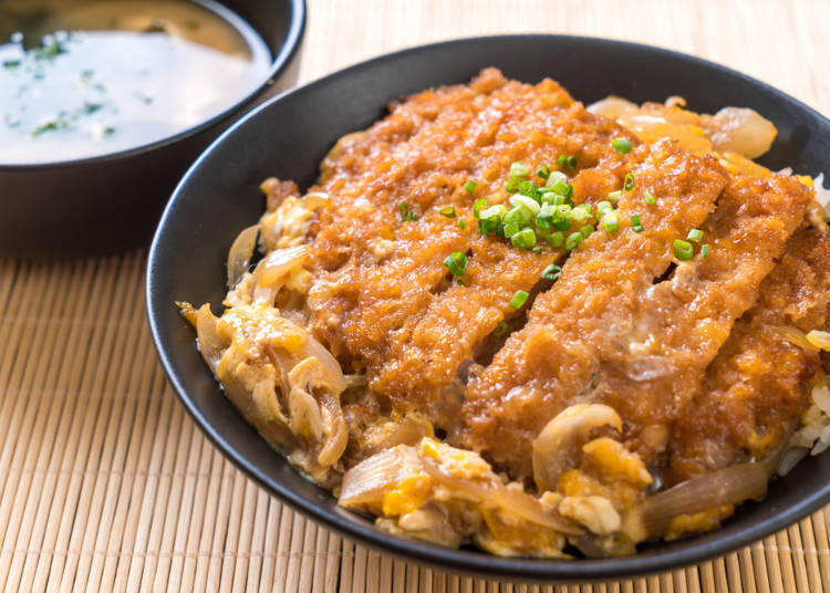 Katsudon: Delicious, though it tastes completely different from tonkatsu!