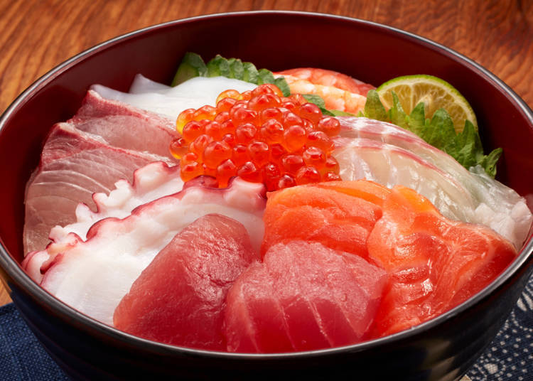 Kaisendon: Though a hot favorite amongst Japanese, it's the least popular amongst foreign visitors