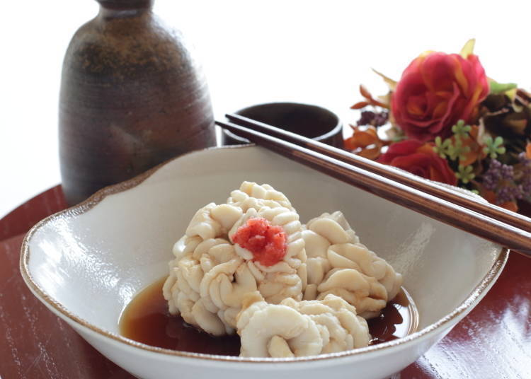 Shirako (Cod Milt): Once I knew what it was I couldn't eat it...