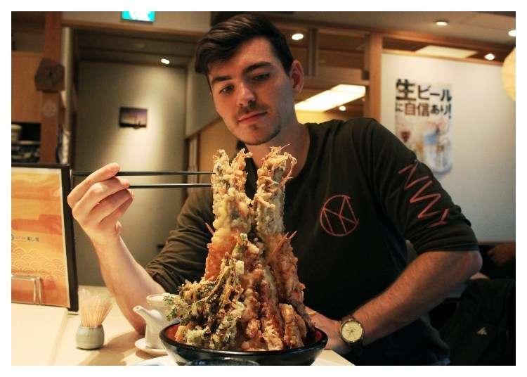 Tokyo Food Challenge: Go BIG or Go Home! 4 Super-Sized Food Spots in Tokyo - LIVE JAPAN