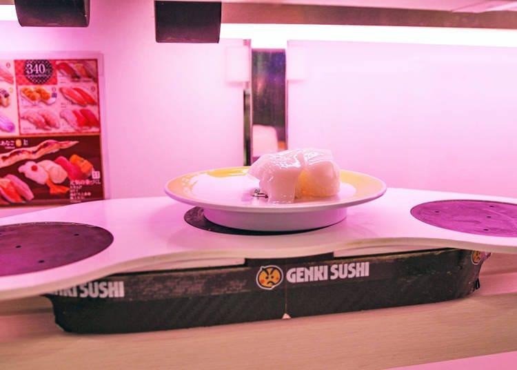4. Sushi ahoy? Sushi aboard (toy) boats!