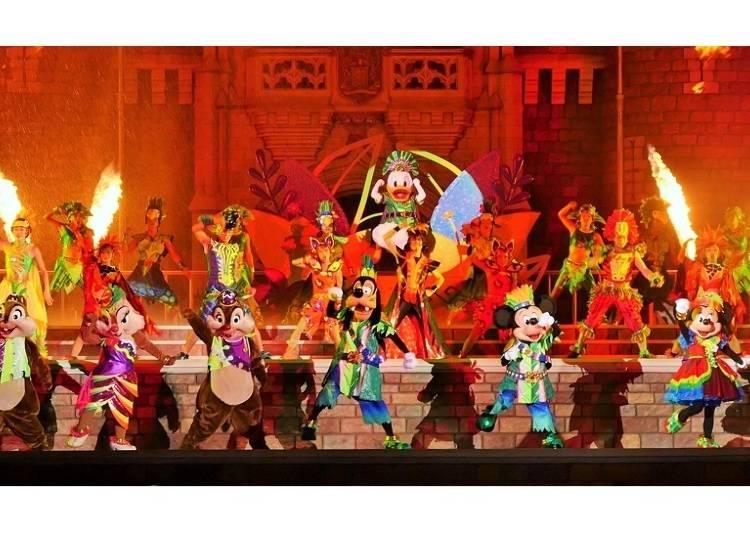 ■【東京迪士尼樂園®】「唐老鴨的熱力盛夏叢林」夜間表演秀「噢!夏日萬歲!」