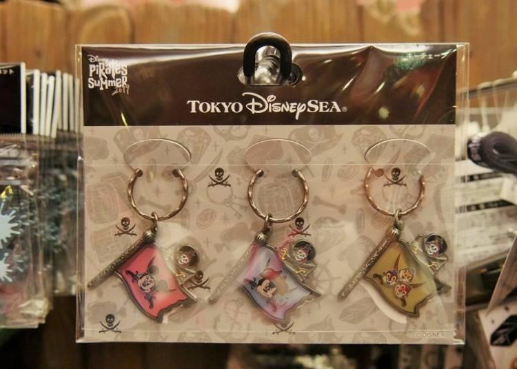 (4)鑰匙圈(三個一組1500日圓)
