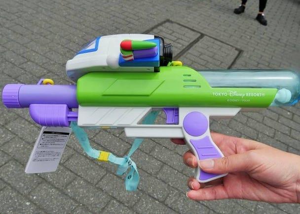 11.巴斯光年水槍(2500日圓)