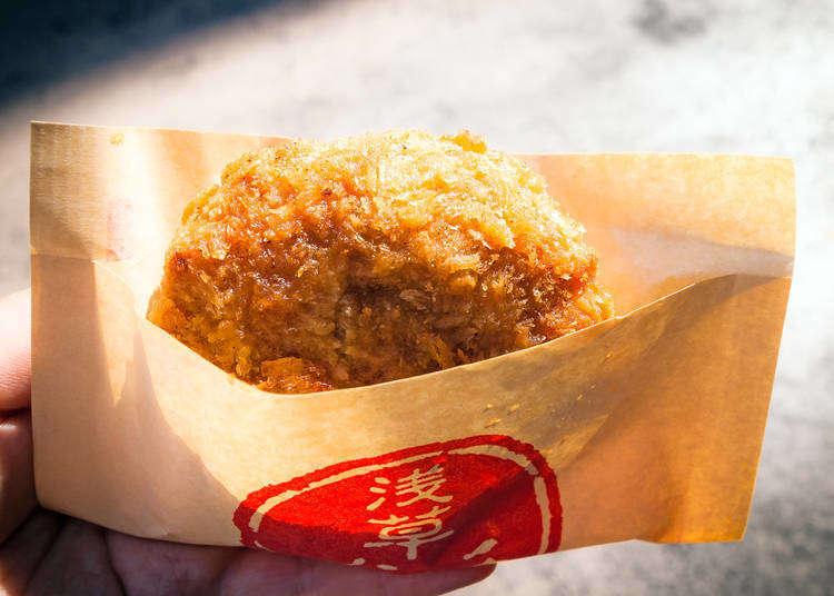 【淺草】平價又美味!只需500日圓銅板價的仲見世通商店街美食5選