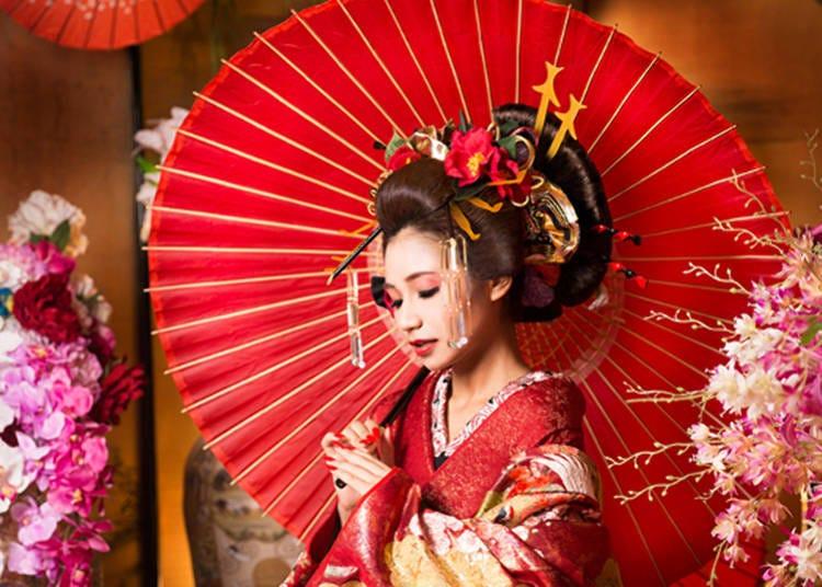 在「淺草變身寫真館Studio七色」照張變身時候的紀念照吧!