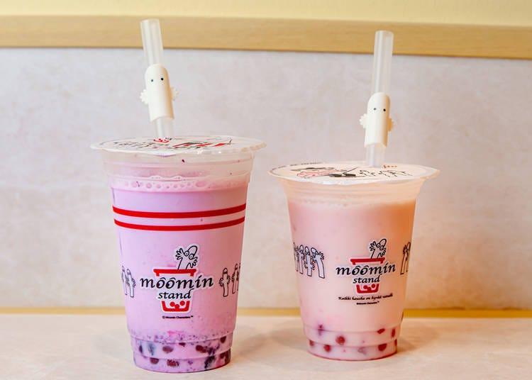 让你喝到超Q噜噜米饮料的「MOOMIN STAND」