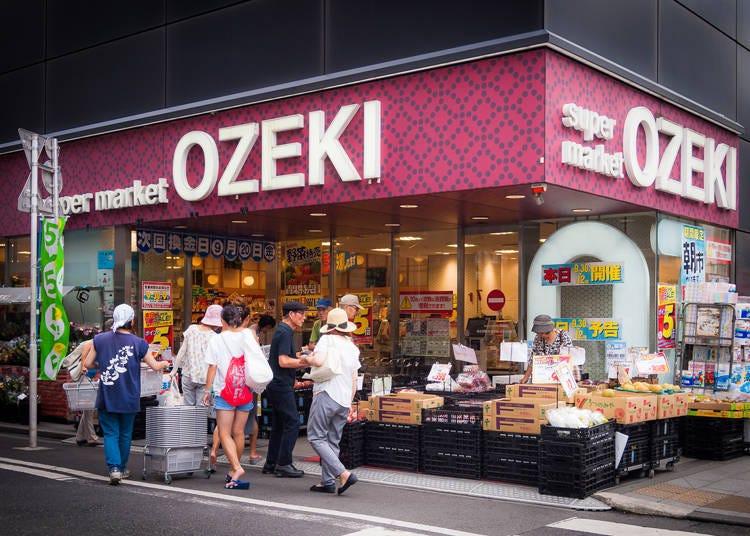 淺草人氣超市⑤ 地下鐵淺草車站地區「OZEKI 淺草雷門店」