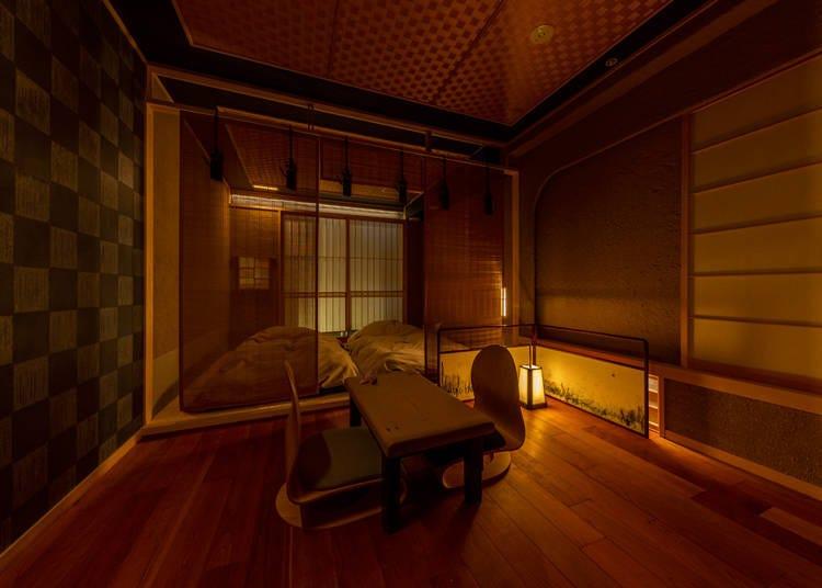 ■感受日本茶室的寂寥之美-「茶室ryokan asakusa」