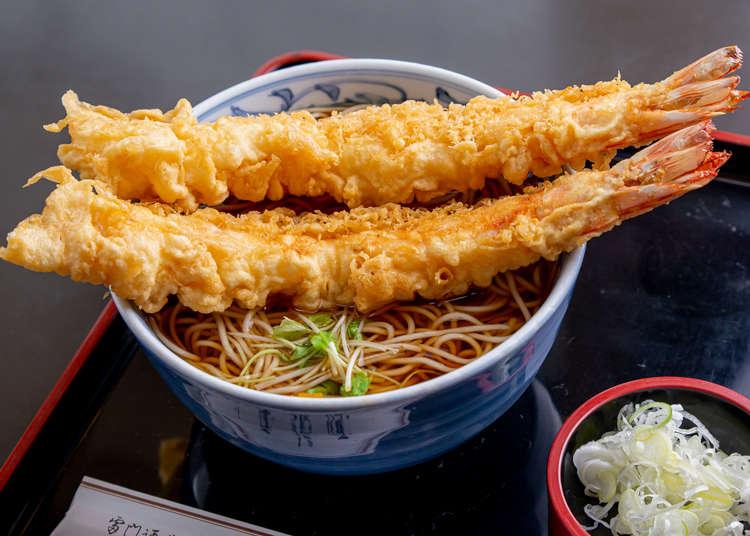 炸虾天妇罗荞麦面、肉汁喷发炸猪排…浅草飘香百年的老字号餐厅必吃传统好滋味推荐