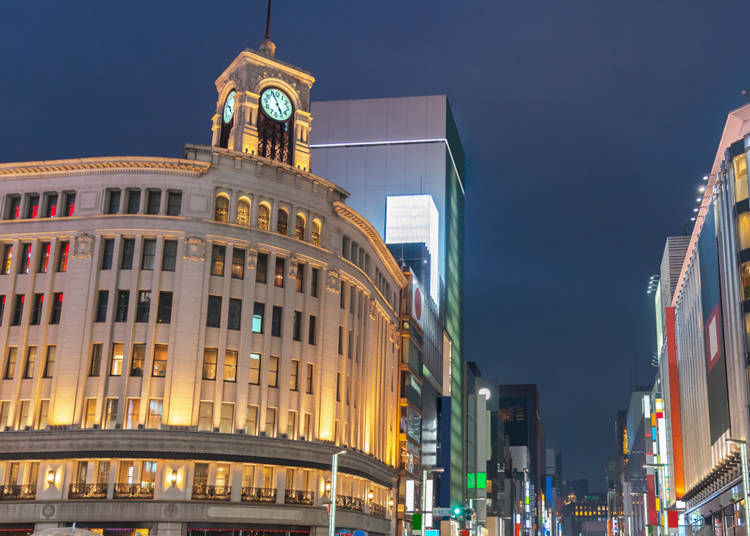 What sort of place is Ginza?