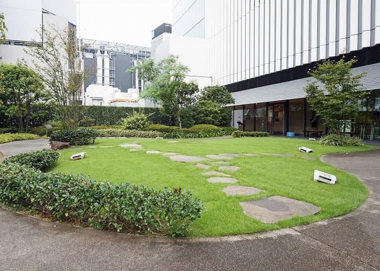 【免費】歌舞伎座內有很多免費觀賞區域!