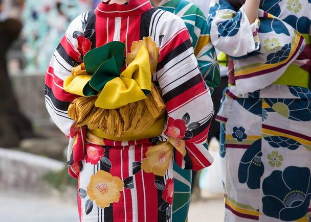 みんなおしゃれでカワイイ!女子のあこがれ日本の「浴衣」