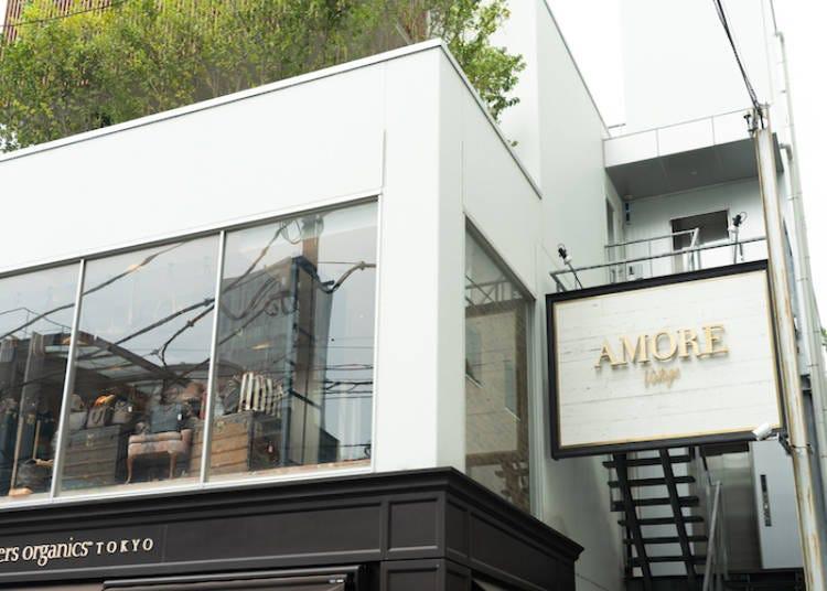 厳選されたハイファッションを扱う「Amore青山店」