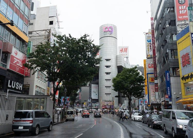 澀谷是新舊交錯的有機體