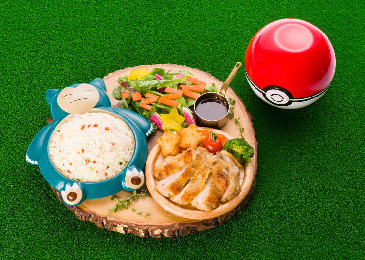 A Wild Meal Appeared! Have Fun With Your Favorite Characters in Tokyo's Pokémon Café!