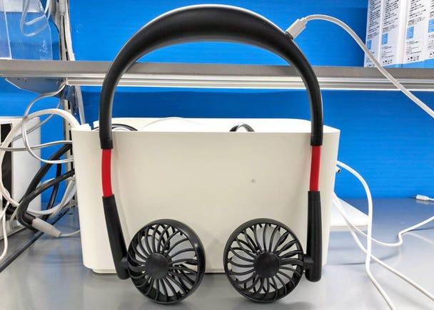 외관은 헤드폰? 핸즈프리 소형 선풍기