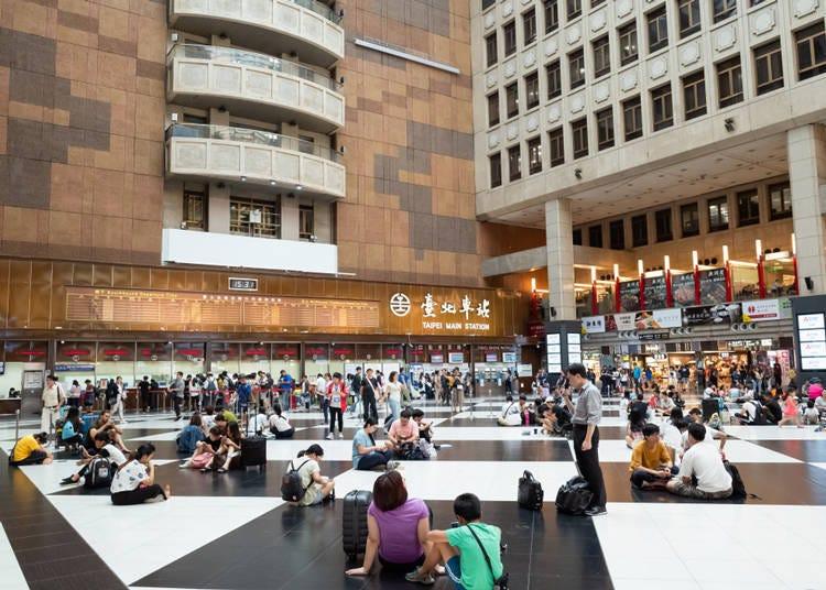 6. 台北車站大廳是野餐場地嗎?