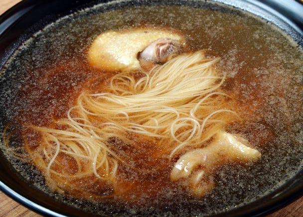 3. 「麺線(めんせん)」が水っぽい……
