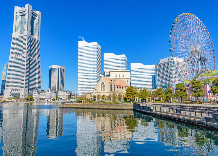 2. 日本のサンフランシスコ「横浜みなとみらい」
