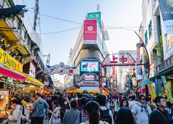 5. 露店や雑多な感じが韓国と似てる! 実は落ち着く「上野」