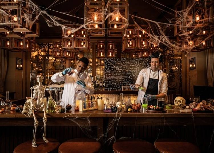 Grand Hyatt Tokyo: Halloween Overload!