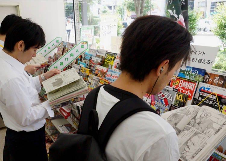 13. All ages read Manga comics