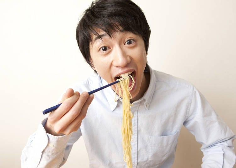 17. People DO slurp their noodles