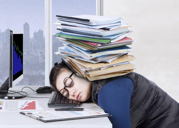9. Japanese people kind of are workaholics