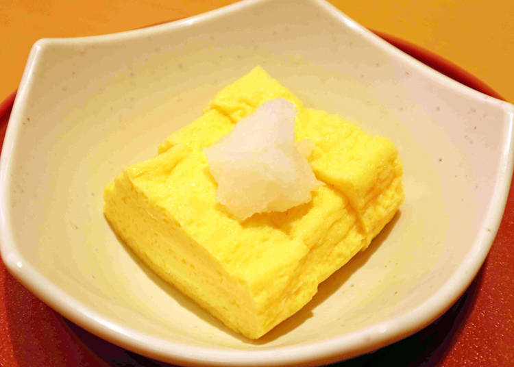Sushiro Recommended Side Dish #1: Dashimaki Tamago - Cooked in Delicious Broth the Japanese Regulars Love!