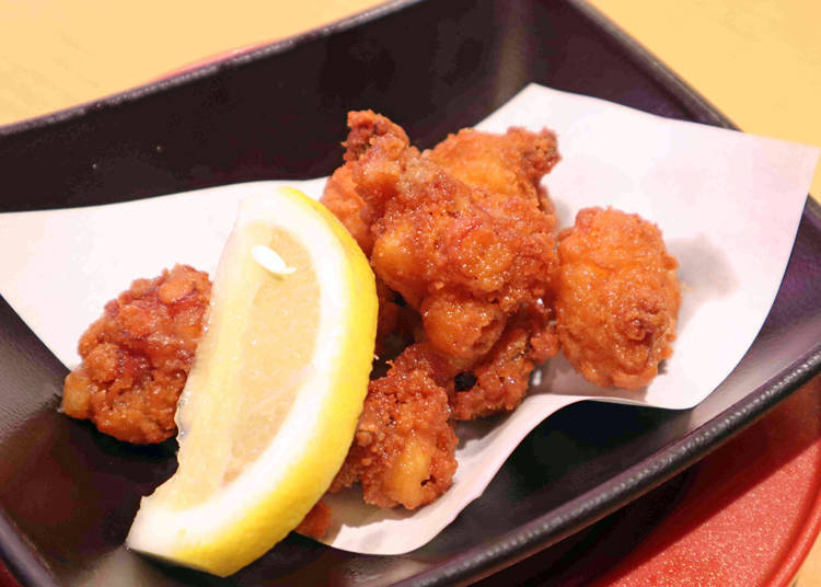 Sushiro Recommended Side Dish #4: Fried Octopus - The Perfect Snack for Sake