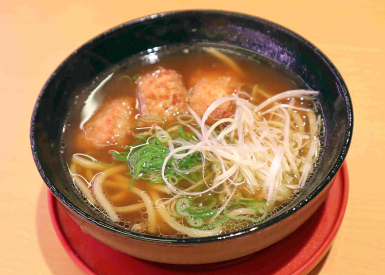 Sushiro Recommended Side Dish #5: Fatty Tuna Soy Sauce Ramen - Just What A Specialty Sushi Shop Needs!