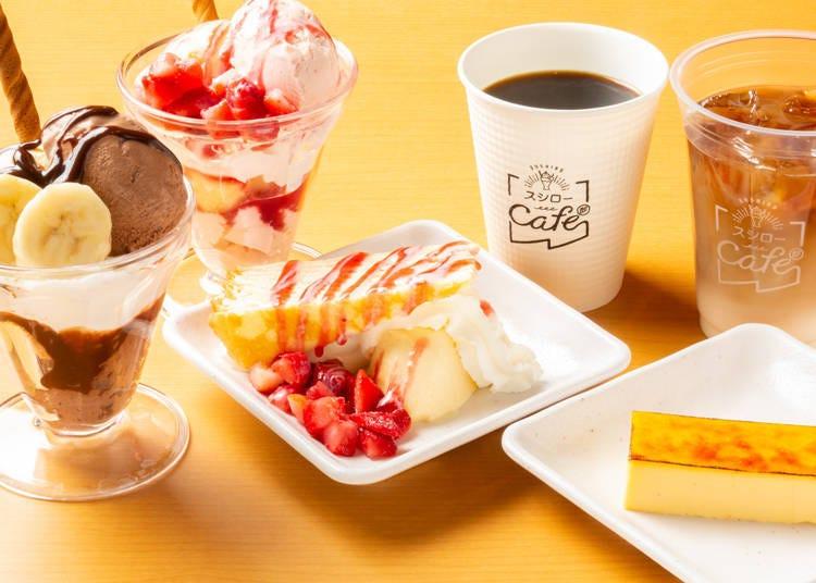 日本壽司郎推薦副餐⑥壽司郎cafe部所開發的獨家甜點