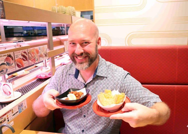 日本壽司郎副餐&甜點表現整體點評