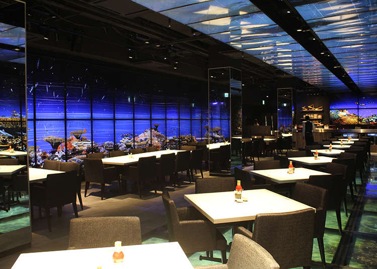 Inside 'Nazuki' - Tokyo Tsukiji's Newest Seafood Restaurant! Traditional Cuisine Meets Cutting-Edge Technology