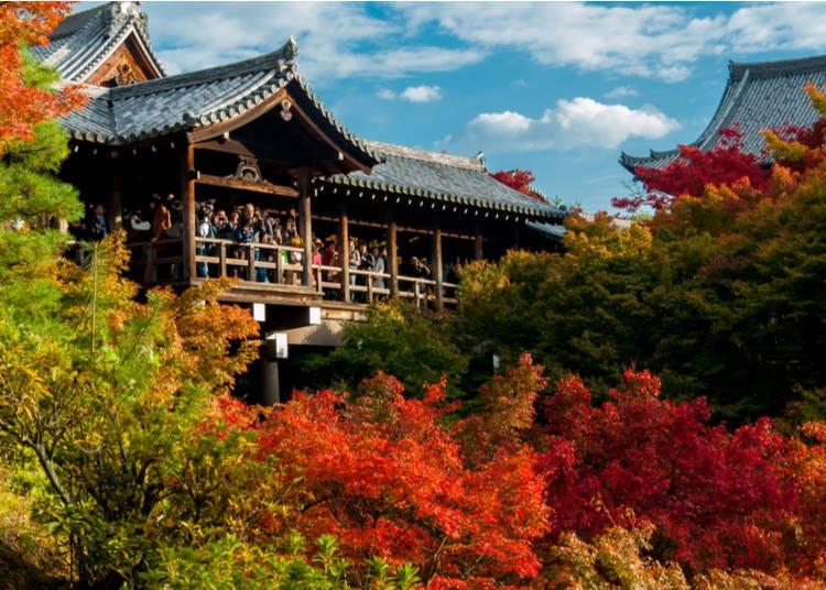 3. Tofukuji Temple (Kyoto)
