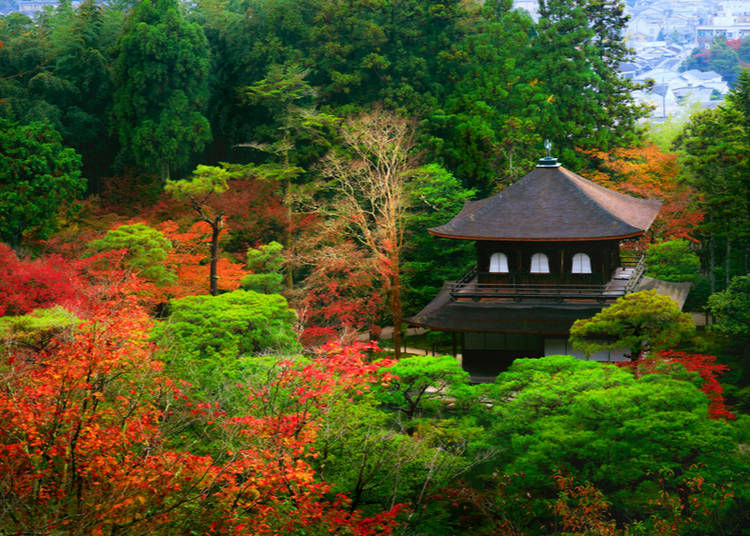15. Ginkaku-ji (Temple of the Silver Pavilion) (Kyoto)