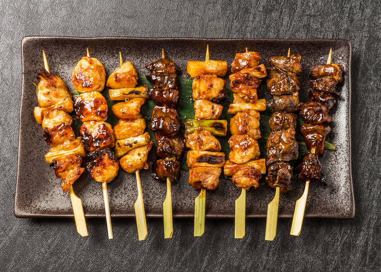 3. Yakitori: A quick and tasty dish for those who like a lot of choices in one dish